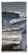 Ranchland Elevator Beach Towel by Brad Allen Fine Art