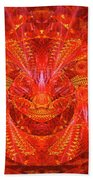 Red Lion Beach Towel