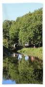 Reflections Of Bridgewater Canal - 1 Beach Towel