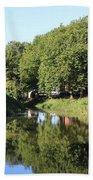 Reflections Of Bridgewater Canal - 1 Beach Sheet