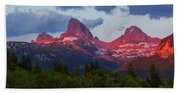 Reliving The Tetons Beach Towel