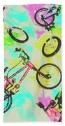 Retro Rides Beach Towel