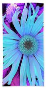 Rhapsody In Bleu Beach Towel