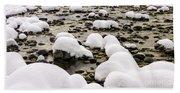 Rhine Winter Beach Towel