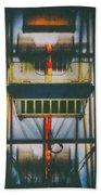 Ride The Ferris Wheel Beach Towel