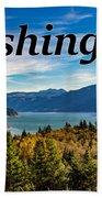 Riffe Lake, Washington Beach Sheet