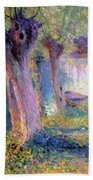River Epte Giverny 1910  Beach Towel