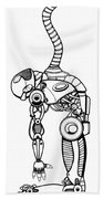 Robot Charging Beach Towel