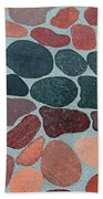 Rocks Sawed And Polished Beach Towel