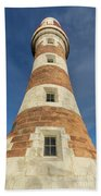 Roker Lighthouse 1 Beach Towel