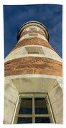 Roker Lighthouse 2 Beach Sheet
