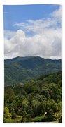 Rolling Hills, Open Sky Beach Towel