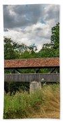 Rothenburg Covered Bridge Beach Sheet