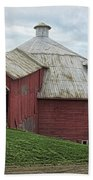 Round Barn - Mansonville, Quebec Beach Sheet