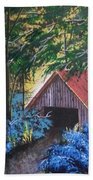 Rustic Barn Beach Towel