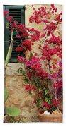 Rustic Life - Flowers Beach Towel
