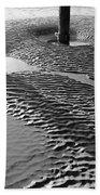Sand Shadows Beach Towel