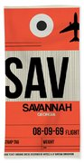 Sav Savannah Luggage Tag I Beach Towel