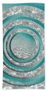 Seabed Circles Beach Towel