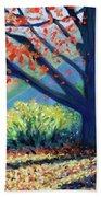 Sentinel By The Road Beach Towel