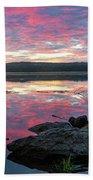 September Dawn At Esopus Meadows I - 2018 Beach Sheet