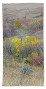 September Perfection On The Western Edge Beach Towel