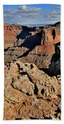 Shafer Canyon In Canyonlands Np Beach Towel