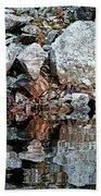Shawanaga Rock And Reflections Vi Beach Towel