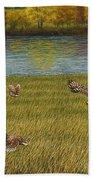 Shenandoah Valley Hawk Beach Towel