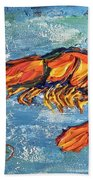 Shrimp Beach Towel
