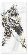 Sidney Crosby Pittsburgh Penguins Pixel Art 23 Beach Towel