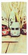 Sixties Dreaming Beach Sheet