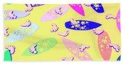 Sixties Surf Beach Towel