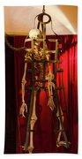 Skeleton  In Torturedevise Beach Towel