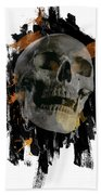 Skull - 4 Beach Towel