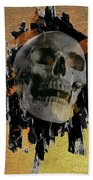 Skull - 9 Beach Towel