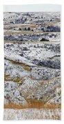 Snowy Dakota Beach Towel