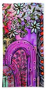 Something About Spring Beach Towel by Mimulux patricia No