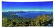 South Lake Tahoe Beach Sheet