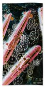 Southern Submarines  Beach Towel