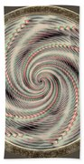 Spinning A Design For Decor And Clothing Beach Towel