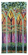 Spring Cathedral Beach Towel by Jeanette Jarmon