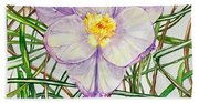Spring Macro Tangle Beach Towel