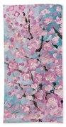 Spring Pink Beach Towel