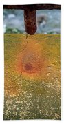 Stains Beach Towel