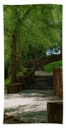 Stairway To Carlyle Beach Towel