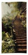 Stairway To Yesterday Beach Towel