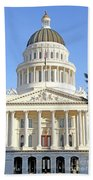 State Of California Capitol Building 7d11736 Beach Towel
