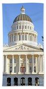 State Of California Capitol Building 7d11736 Beach Sheet