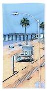 Station 3 Oceanside California Beach Towel